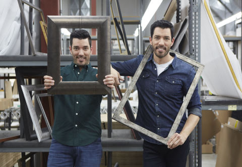 Michaels Collaborates with Jonathan and Drew Scott on Their First Ever Custom Framing Program