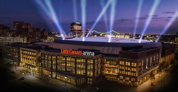 A picture of Little Caesars Arena