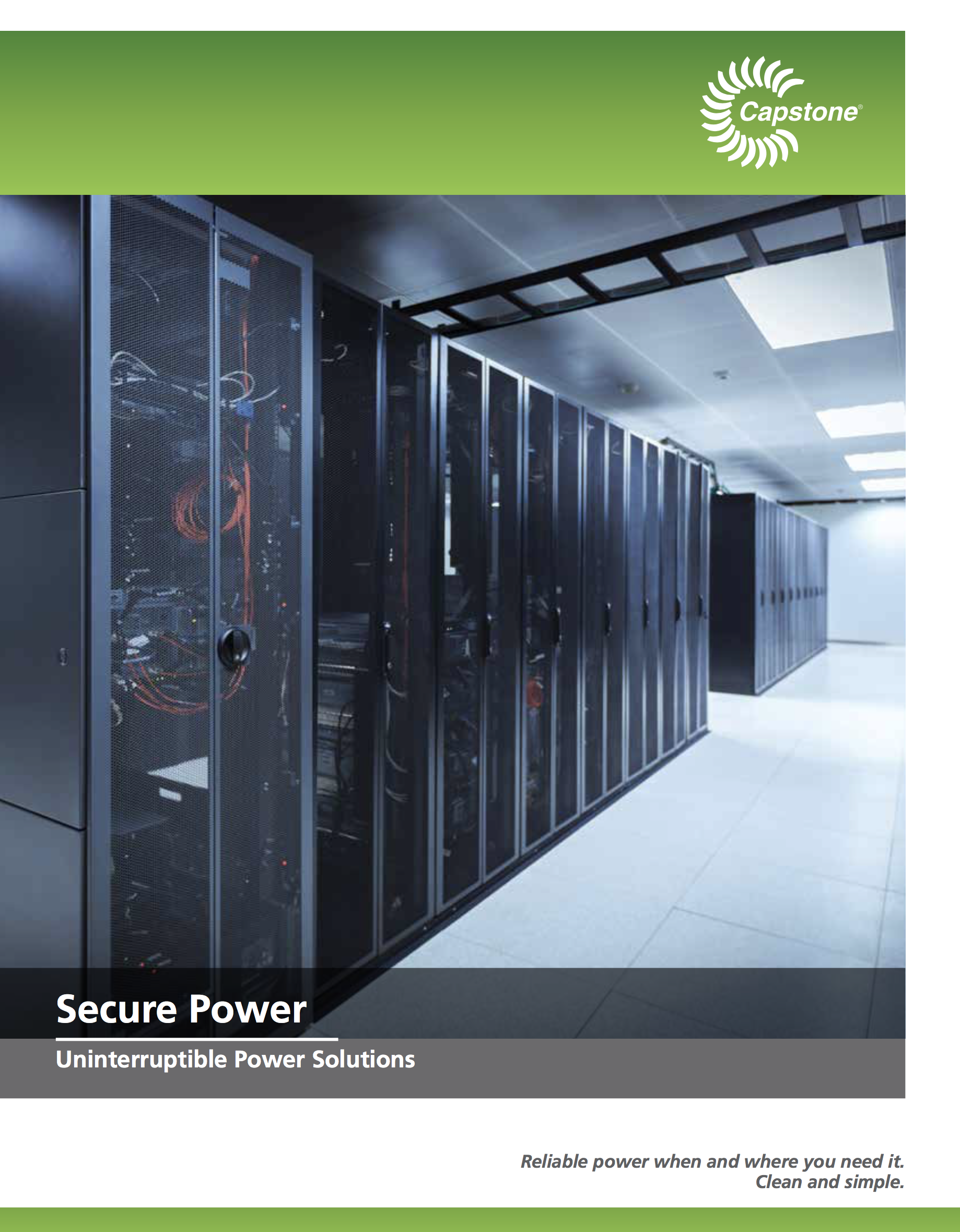 Secure Power Brochure