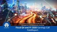 Fiscal Q4 2020 Earnings Call FieldReport