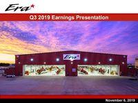 Era 2019 Q3 Earnings Presentation