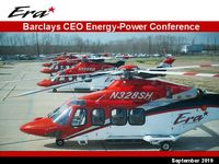 Era Barclays CEO Energy-Power Conference Presentation
