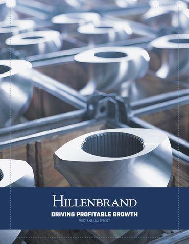 Hillenbrand, Inc. 2017 Annual Report Thumbnail