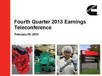 Q4 2013 Earnings Presentation