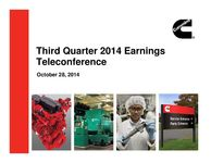 Q3 2014 Earnings Presentation