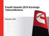 Q4 2014 Earnings Presentation