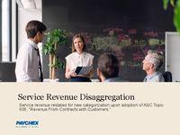 Service Revenue Disaggregation