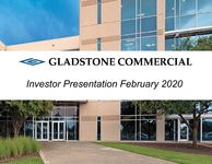 Gladstone Commercial Investor Presentation February 2020