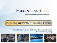 Fourth Quarter 2014 Earnings Conference Call