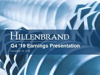 Fourth Quarter 2019 Earnings Conference Call
