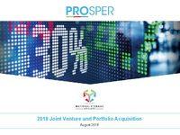 2018 Joint Venture and Portfolio Acquisition