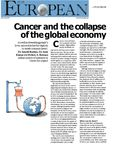 Cancer and the Collapse of the Global Economy