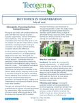 Hot Topics in Cogeneration