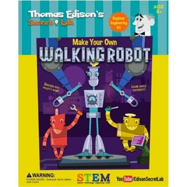 Edison's Lab Make Your Own Walking Robot<br><i>Sold Out!</i>