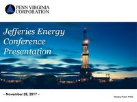 Jefferies 2017 Energy Conference