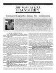 Wall Street Transcript Interview