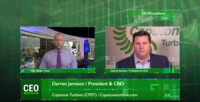 CEORoadshow Interview with Darren Jamison, President & CEO of Capstone Turbine CPST