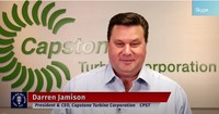 CEO Darren Jamison on Capstone's Expanding Microturbine Rental Fleet Despite Impact of COVID-19