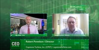CEO Roadshow Interview with Capstone Turbine Board Member Robert F. Powelson (Part 3)