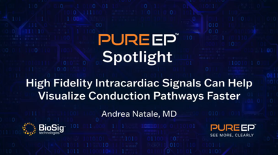 High Fidelity Intracardiac Signals Can Help Visualize Conduction Pathways Faster