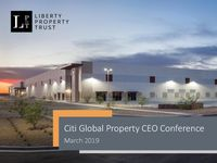 Citi Global Property CEO Conference - March 2019
