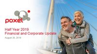 Half Year 2019 Financial and Corporate Update – English