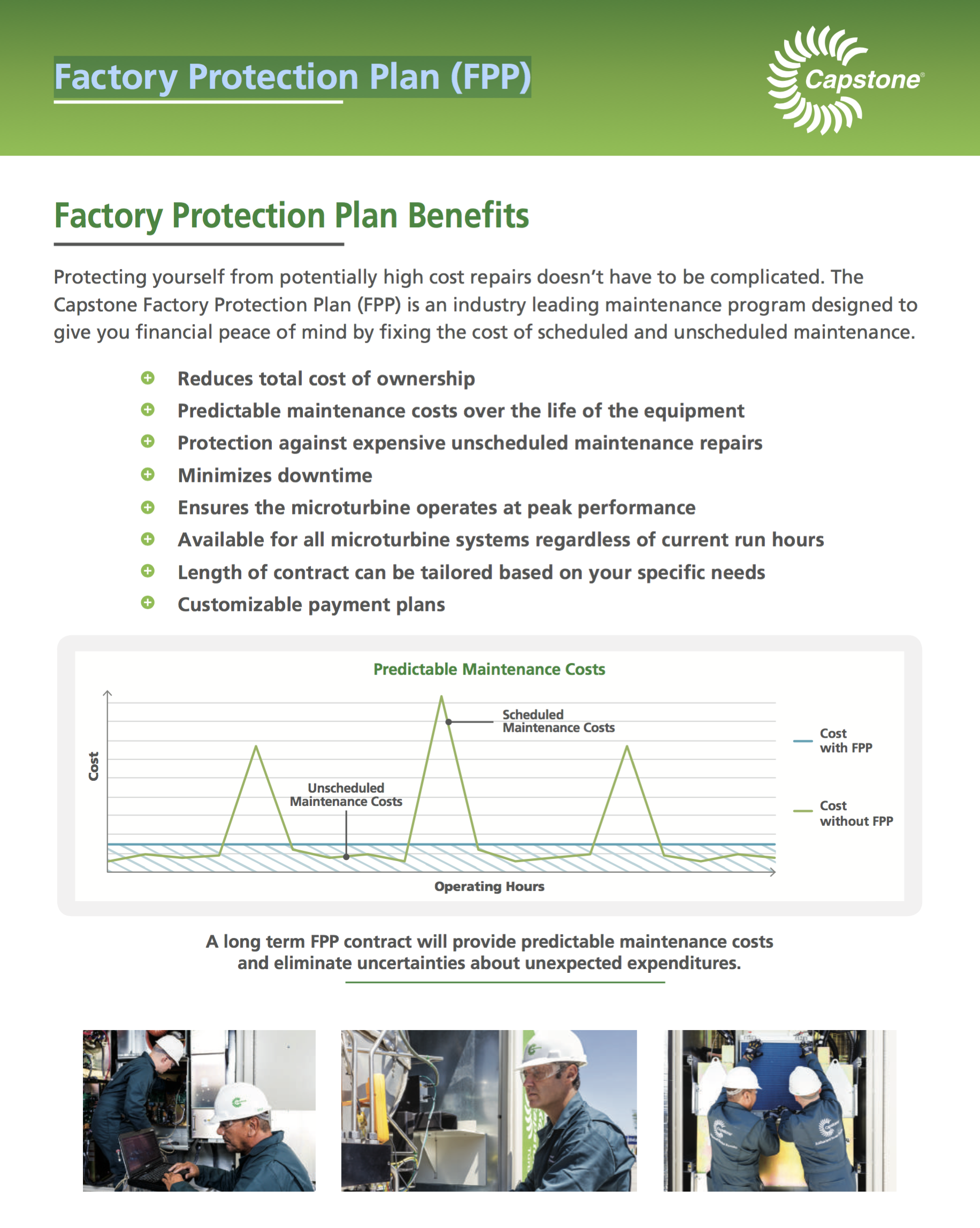 Factory Protection Plan (FPP)