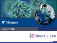 January 2017 Corporate Presentation: JP Morgan