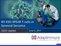 June 2017 Corporate Presentation: ASCO
