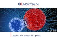 Adaptimmune Clinical and Business Update