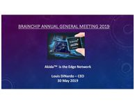 May 2019 CEO Presentation - Annual General Meeting