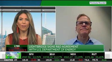 Thumbnail of Lightbridge TD Ameritrade Network - April 29, 2020