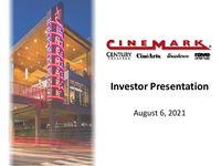 Investor Presentation - Q2 2021