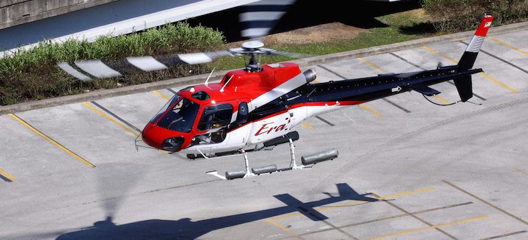 Configuración marítima/utilitaria del AS350B2