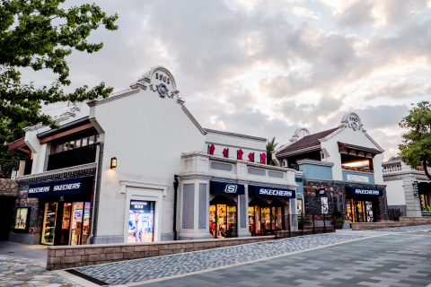 Skechers opens flagship retail store in Disneytown at the Shanghai Disney Resort. (Photo: Business Wire)