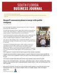 BurgerFi announces plans to merge with public company