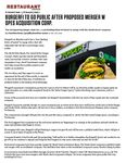 BurgerFi to go public after proposed merger with OPES Acquisition Corp.