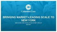 Bringing Market-Leading Scale to New York