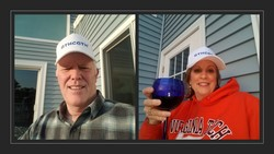 Frank & Sheila in Va. Beach say GTHCGTH! Yes, even a Virginia Tech grad says GTHCGTH!!