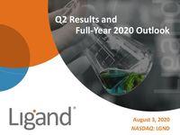 Ligand's Second Quarter 2020 Earnings Webcast Slides