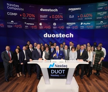 Lucosky Brookman LLP Successfully Represents Long-Time Client, Duos Technologies Group, Inc., in Uplisting to NASDAQ and Public Offering of $8,100,000