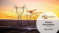 May / June 2020 Investor Presentation
