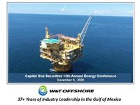 Capital One Securities 15th Annual Energy Conference