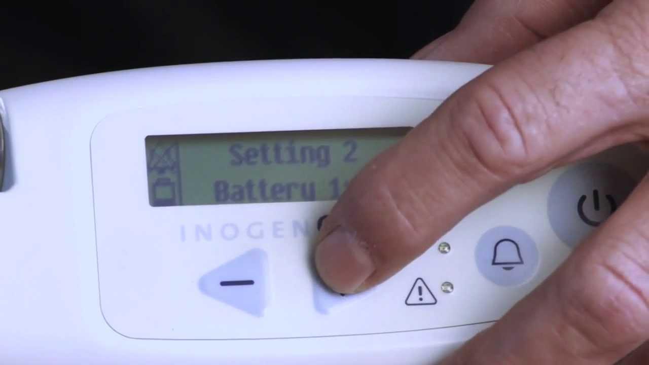 تعليمات إعداد جهاز Inogen One G3
