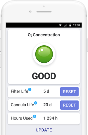 Inogen Connect: Bluetooth