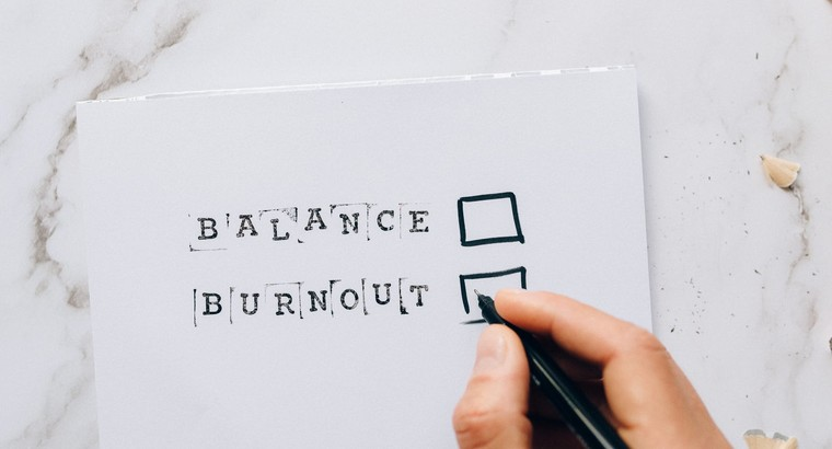 Know your Limit and Avoid Work Burnout