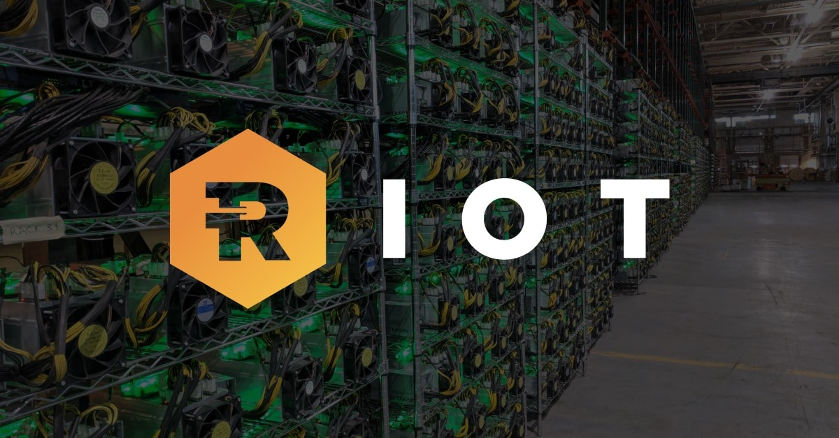Riot Blockchain mined 406 Bitcoins in September and hasn't sold a single coin