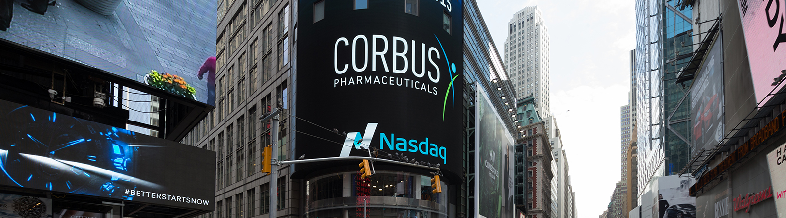 Corbus Pharmaceuticals Reports 2016 First Quarter Financial Results and Provides Business Update Banner
