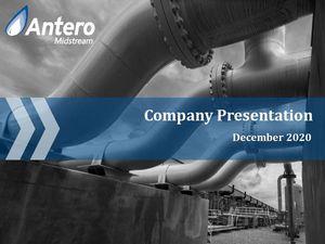 Antero Midstream Company Presentation - May 2020