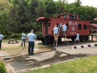 Salem Train Depot Cleanup